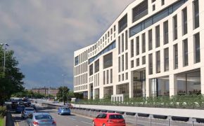 How the Altus building would look alongside Ringway towards County Hall