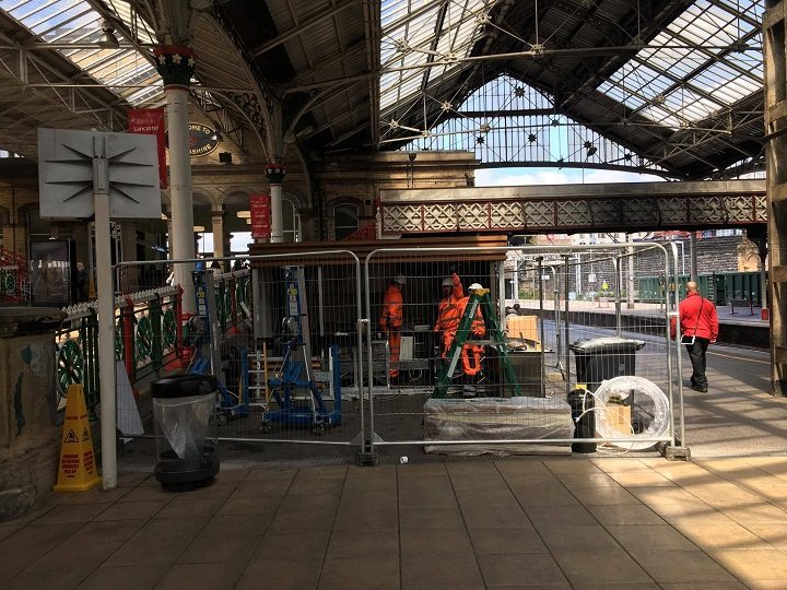 The former Cafe Ritazza on Platform 4 Pic: Katy Derby