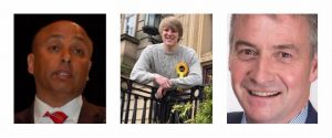 Mark Hendrick, Neil Darby and Kevin Beaty will debate