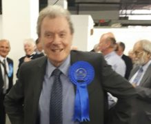 Geoff Driver retained his Preston North seat and is leader of the Lancashire Conservatives