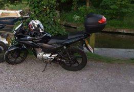 This Honda bike has been taken