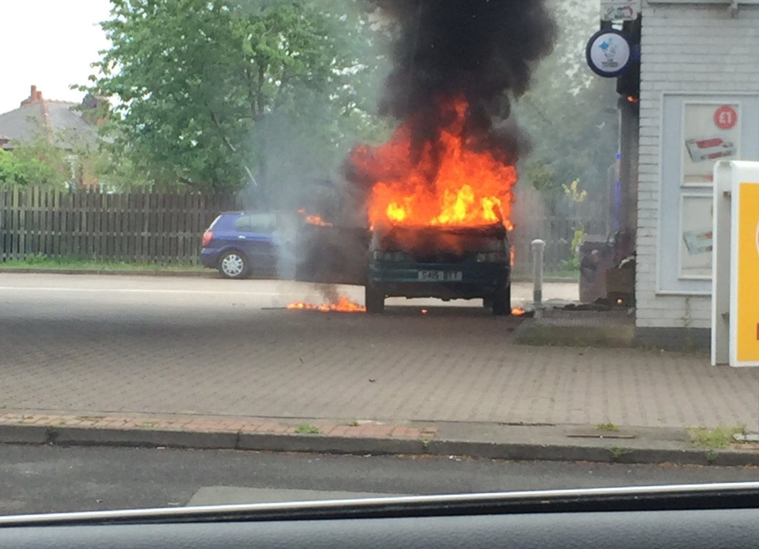 What Can Couse A Fire In A Car