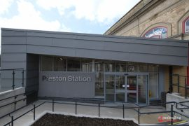 The entrance to Preston Station - it's the closest one to the car park Pic: Paul Melling