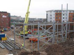 Building work in Preston Pic: Tony Worrall