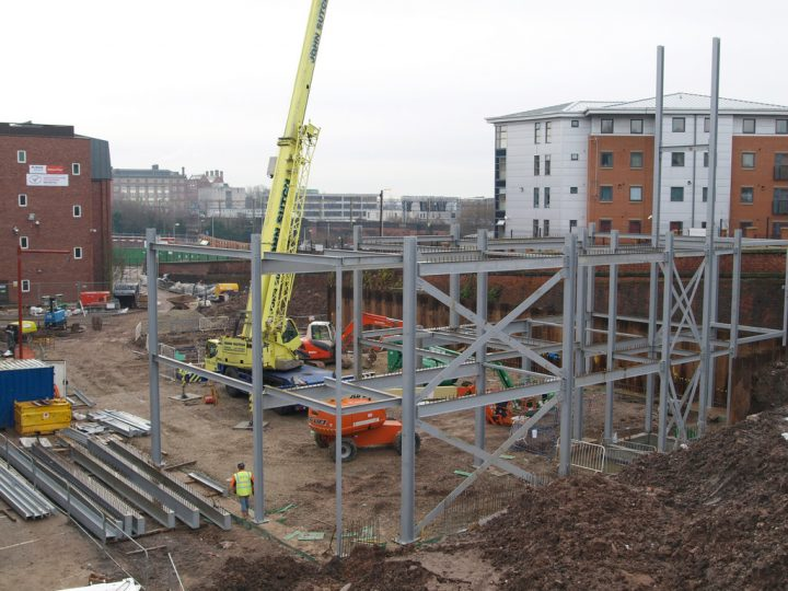 Building work in Preston Pic: Tony Worrall