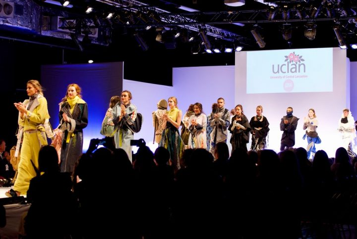 The fashion showcase at UCLan