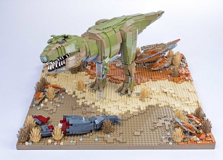 Lego dinosaurs coming to preston city centre blog preston - Lego dinosaures ...