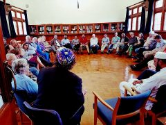 Representatives of all faiths joined the meal at the Preston Quaker house