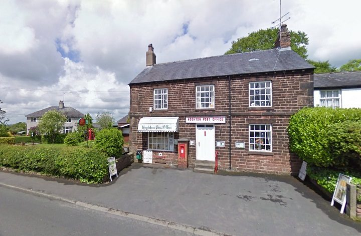 Hoghton Post Office saw staff threatened Pic: Google