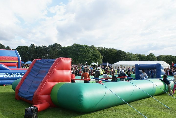 Inflatable games at Park It