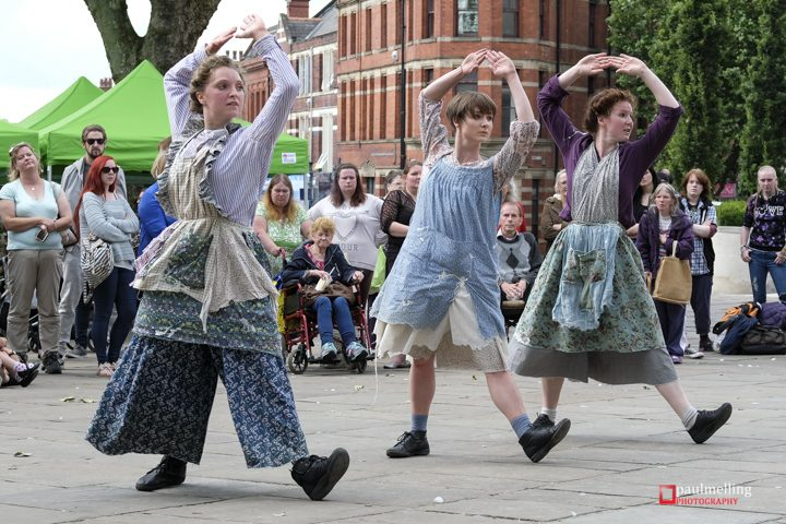 Part of the Cotton dance performance Pic: Paul Melling