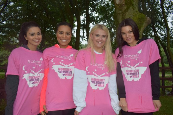 Tisha and Corrie pals for the Moonlight walk