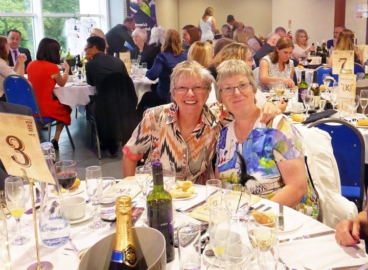 Posing at the gala dinner at Preston North End Pic: Jim Beattie