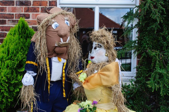 Another of the scarecrow creations in Hoghton Pic: Mick Gardner