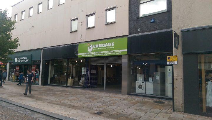 Emmaus Preston has taken on the former HMV store