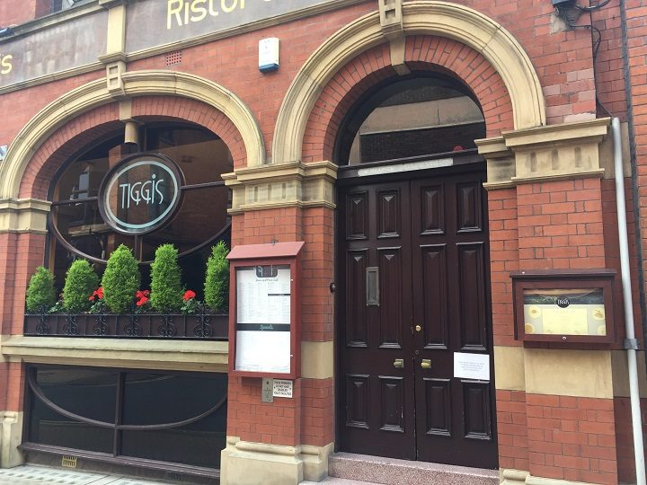Tiggis closed up in Guildhall Street