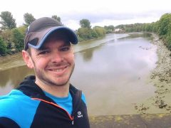 Ben Ashworth's favourite training route was along the River Ribble