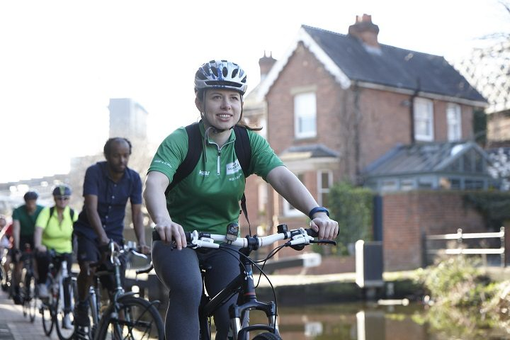 Each ride is led by a cycling guide