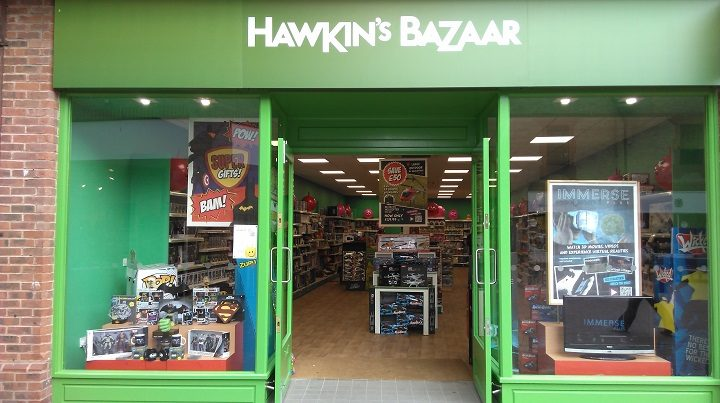 Hawkin's Bazaar is moving to a larger premises