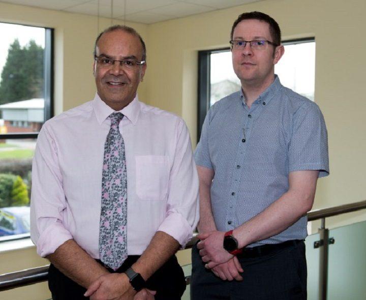 Dr. Manjit Jandu and Dr Matt Orr