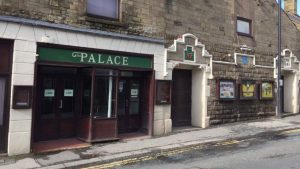 The Palace cinema in Market Place, Longridge