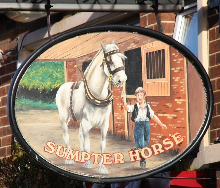 Sign outside the Sumpter Horse Pic: Middle Miss Ford