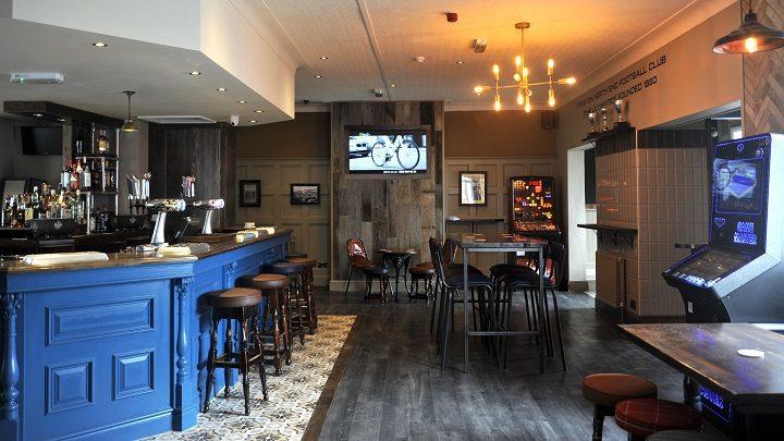 Inside the new look Victoria pub