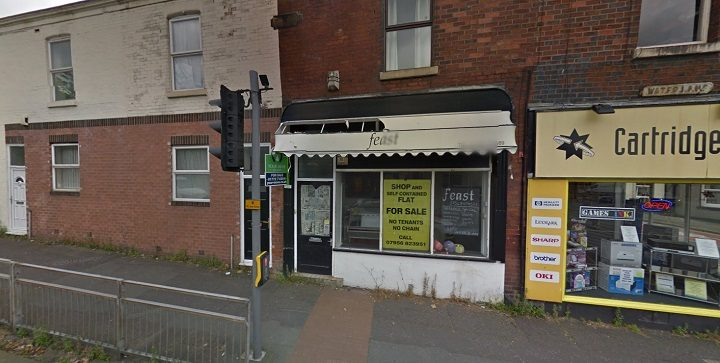 The run down former shop in Water Lane Pic: Google