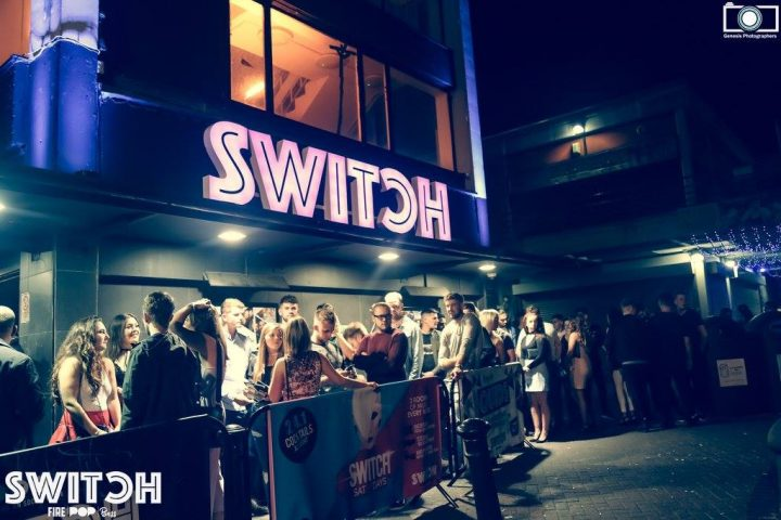 Switch nightclub opened in what used to be Squires