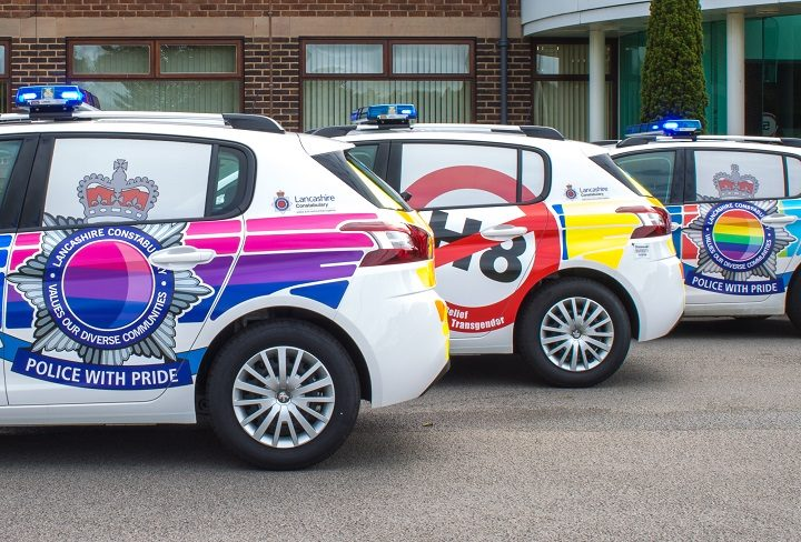 Keep your eyes peeled for the new brightly coloured police cars