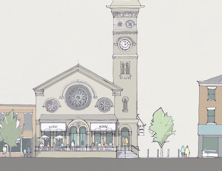 How Fishergate Baptist Church could look