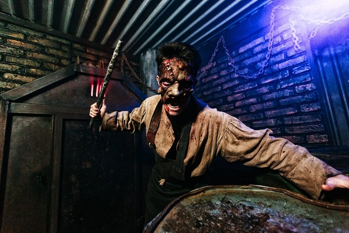 Inside the Scare Kingdom attraction