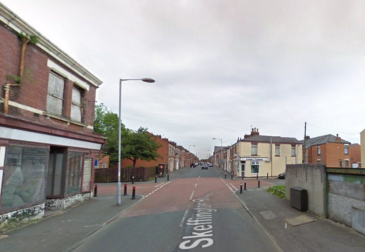 Looking towards the Maitland Street junction in Skeffington Road Pic: Google