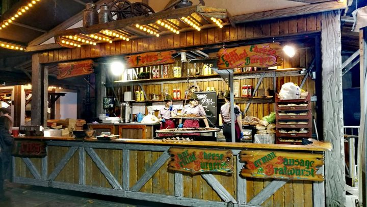 Food stall at Oktoberfest in Preston Pic: Benny Mc'Nally/Preston Chatterbox