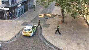 Scene in Birley Street Pic: Multimedia Man