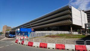 Preston Bus Station undergoing major work Pic: WesternSMT