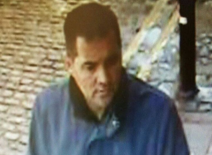 Police want to speak to the man pictured