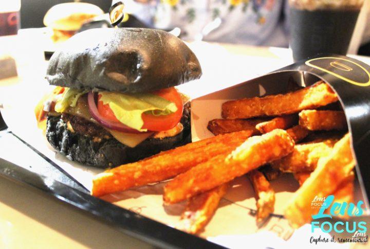 The ghostburg includes a black bun