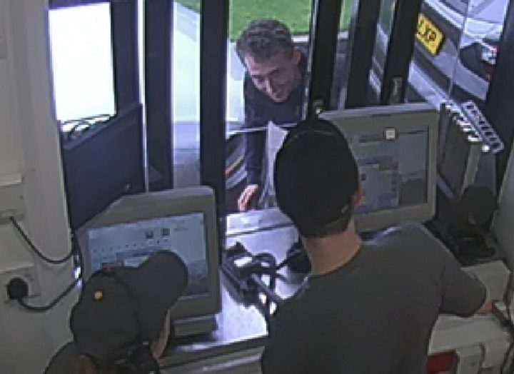 CCTV picture of the man police want to speak to