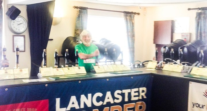 Inside the New Longton Beer Festival
