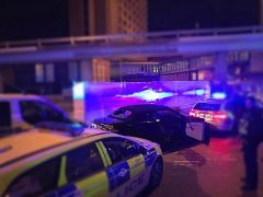 The driver had to be removed from the car by force Pic: LancsRoadPolice