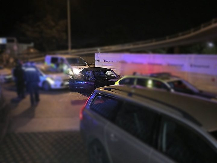 The police chase took place on Friday (6 October) evening Pic: LancsRoadPolice