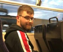 British Transport Police want to speak to this man in connection with the incident