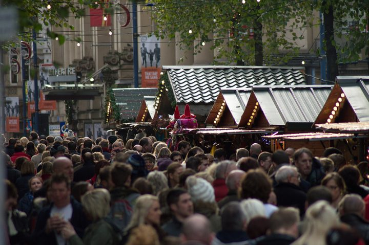 Manchester Christmas Market Pic: Manchester Street Snaps