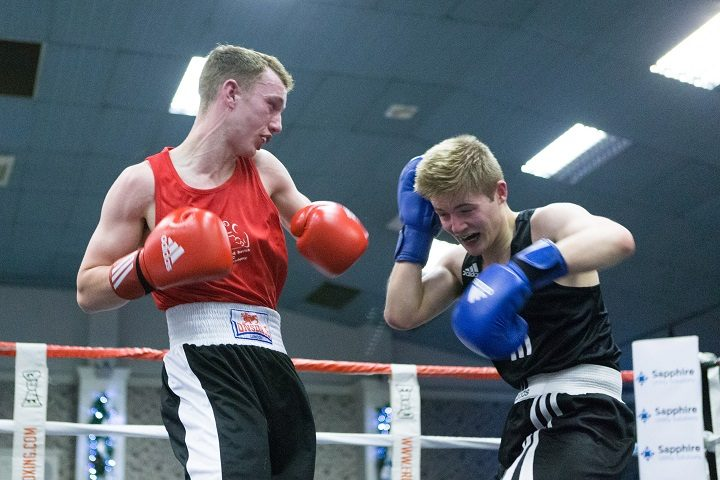 Hell Larches and savick amateur boxing club love