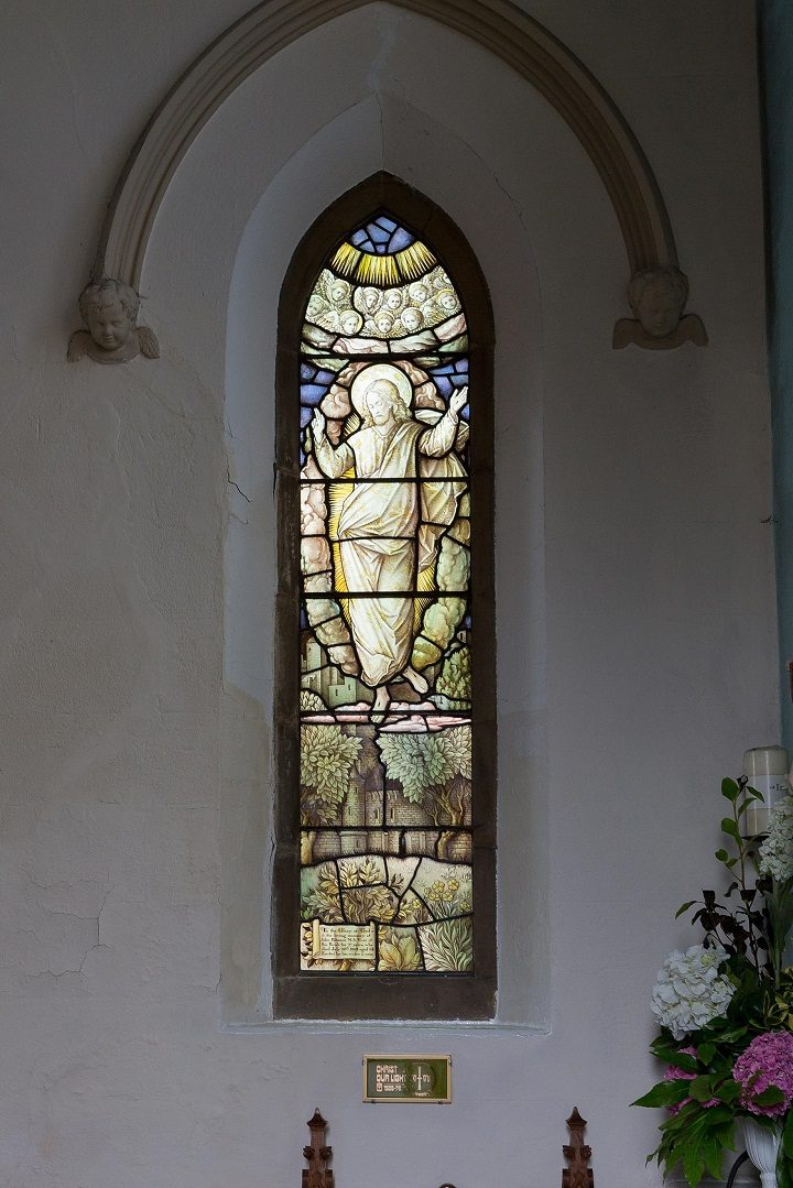 Chancel North window