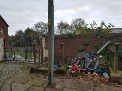 Fly-tipping in Avenham Place