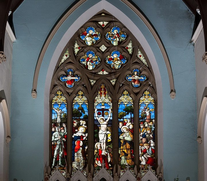 Great East Window at Christ Church in Fulwood