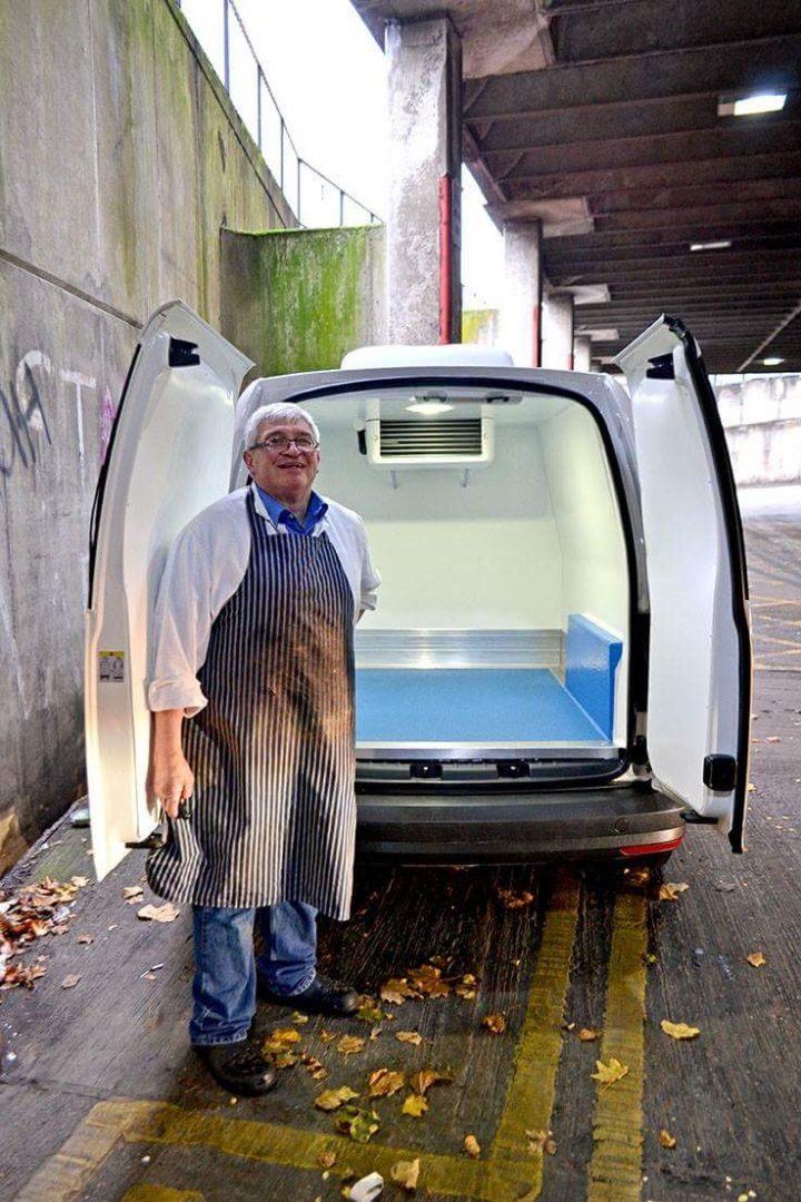 New van for Livesey's Pic: Joseph Gudgeon