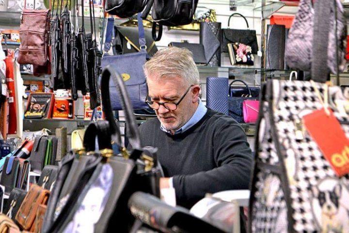 Dave in the Market Pic: Joseph Gudgeon